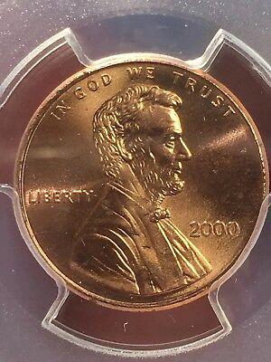 "2000 Lincoln Cent PCGS MS66RD ""Cheerios"" Cent - RicksCafeAmerican.com 3"