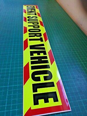 EVENT SUPPORT VEHICLE Chevron Magnet Marathon Half Running Festival Medic Race 2