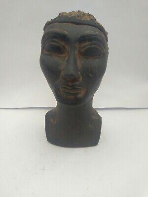 RARE ANTIQUE ANCIENT EGYPTIAN Beautiful Clever Queen Nefertiti 1365-1325 Bc 2