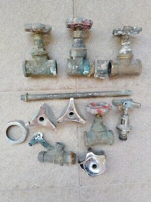 Vintage Water Valves and Accessories Retro Collectible 3