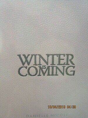 Game Of Thrones Danielle Nicole Stark House Crossbody Purse Winter Is Coming Hbo 10