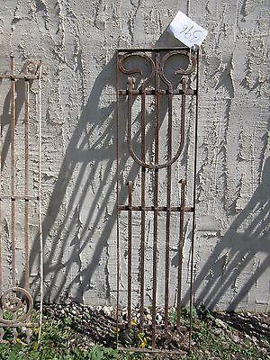 Antique Victorian Iron Gate Window Garden Fence Architectural Salvage Door #396 4