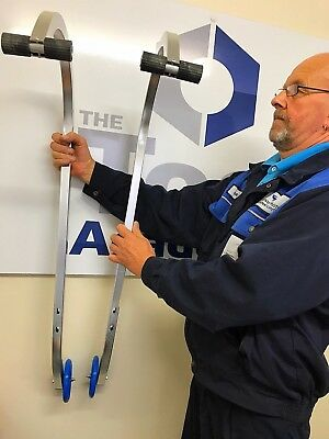 Universal Roof Hook Kit Aluminium Extension Ladders +Fixings Lifetime Warranty 5