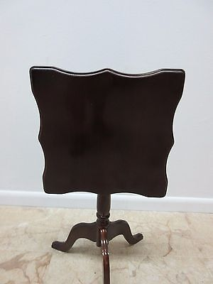 Bombay Company Cherry Lamp End Table Pedestal Stand 7