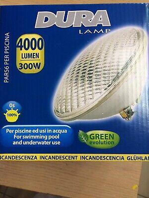 Lampada faro per piscina 300w 12v PAR 56 alogena 4000 LUMEN-+ 3