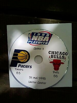 NBA Playoffs 1998 DVD Michael Jordan Bulls vs Pacers 7