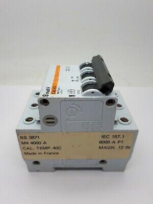MERLIN GERIN 15 Amp Type 2 M6 Triple Pole MCB Disjoncteur 21345 C45N