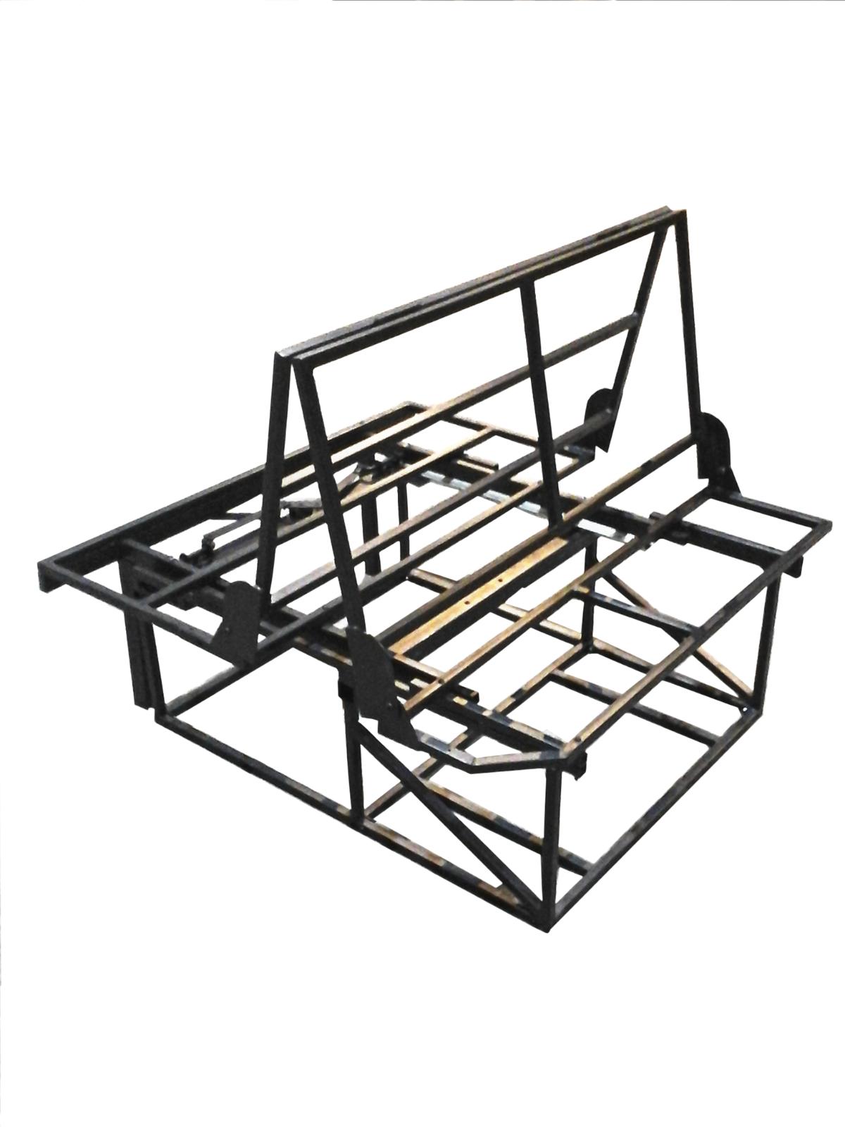 ROCK AND ROLL bed Frame 3/4 Transporter T4 T5 bongo transit vivaro ...