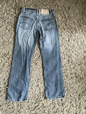 Boys Ralph Lauren Polo Denim Blue Faded Distressed Look Ripped Jeans Age 10 Yrs 5