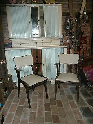 Paire fauteuils vintage scandinave