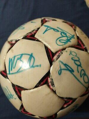 Pallone originale AC MILAN Select 1989/90 AUTOGRAFATO! 4