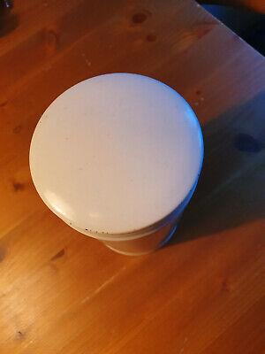 Apotheker Gefäß - Porzellan - Ungt.leniens -ca 17,5 x10cm 4