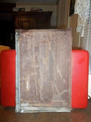 3  Antique Tin Roofing Shingles 1890 Fluer De Lis 3 Tiles Only 1 Shows In Photo 2