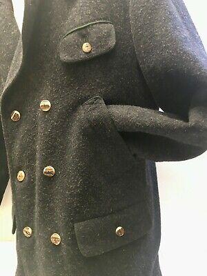 ☛ Dunkelgraue lange Trachten Jacke im Schladminger Stil Adlmaier Gr.: 26 ☚ 3