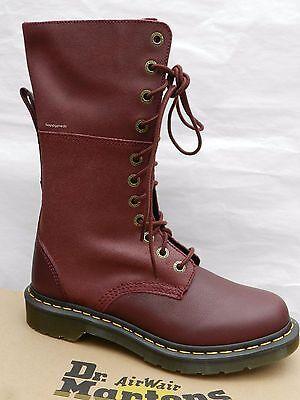 f2caa8588da ... Dr Martens Hazil Virginia Chaussures Femme 42 Bottes Cherry Red 20346600  UK8 New 7