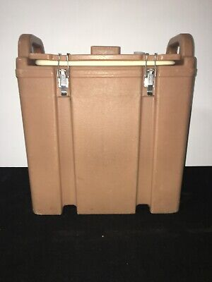 Cambro Tan Insulated Soup/Beverage Carrier 350LCD 3.3/8 Gallon Capacity. #1L 2