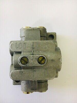 Cross-Porting Adaptor for U-Block Divider Manifold Distributor Block 1//8 BSP