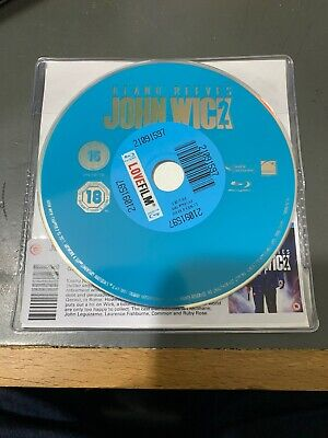 John Wick: Chapter 2 Blu-ray - Keanu Reeves DISC ONLY . Action Crime Film 3