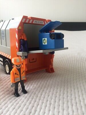 Playmobil New Spares 30279880 Outer Hatch Retainers recycle truck