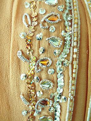 Asian Wedding Burnt Orange Embellished Lengha & Dupatta    (M)  Uk 10 £650  Bnwt 12