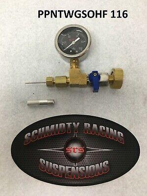 Protector Geothermal Loop Fill Tool For Garden Hose Geo Needle W// 100psi Gauge