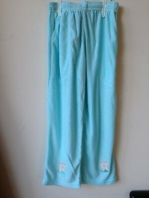 Girls Pyjamas Soft Velor Feel New 3-4 years Aqua   5