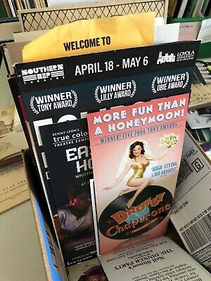 Broadway/Theatre Flyers Mailers Brochures / Free U.S. Shipping!  Bulk discounts! 7