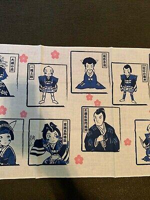 Japanese Traditional handkerchief 手拭い 歌舞伎 kabuki 5