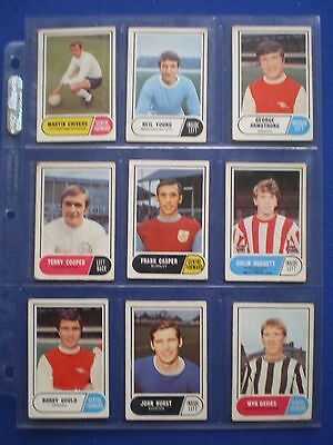 A&BC - Footballers 1969/70 - Bubblegum Cards * Choose The One's You Need * 4