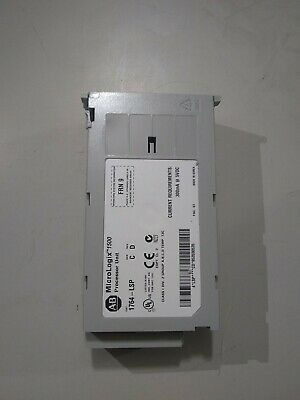 Allen-Bradley MicroLogix 1500 CPU ,1764-LSP Ser C. Rev. D Frn 9 4
