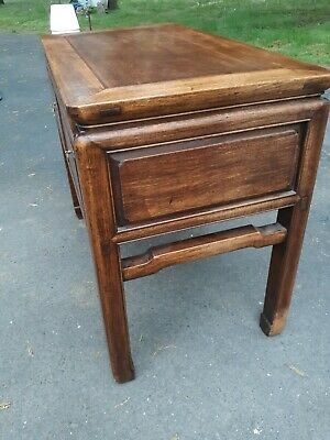 Outstanding Large Antique Chinese Hardwood Desk Table or Console 11
