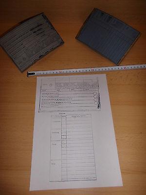 2 Stempel/ Abrollstempel 1x Erbse Anbau/ Entwicklung und 1 x Anbau von ..., gebr