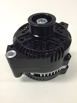 1986-1995 NEW FORD MUSTANG HIGH AMP LOAD BOSS BLACK PAINTED ALTERNATOR 200 AMPS