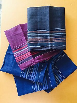Men Mens HANDKERCHIEFS 100%Pure Cotton Pocket Square Hanky Handkerchief New Bulk 3
