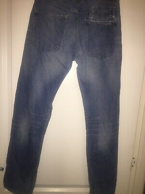 Boys H&M Blue Jeans With Brace Buttons Aged 14+ 7