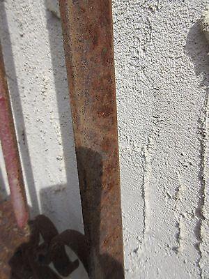 Antique Victorian Iron Gate Window Garden Fence Architectural Salvage Door #353 6