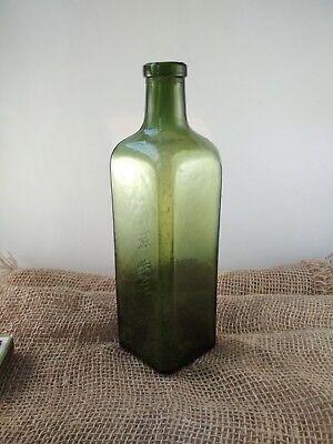 "Alte Apothekerflasche ""HAEMATICUM=GLAUSCH"" / old pharmacy bottle 5"