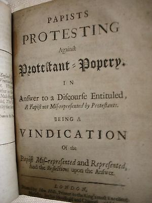 A Papist (1685-1686) - FBHP-11 6 • CAD $825.66