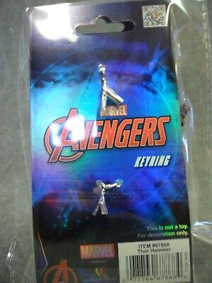 Thor Hammer Pewter NEW * Mjolnir Key Chain * Ragnarok Dark World Keychain 4