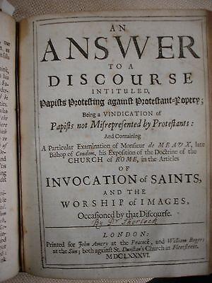 A Papist (1685-1686) - FBHP-11 7 • CAD $825.66