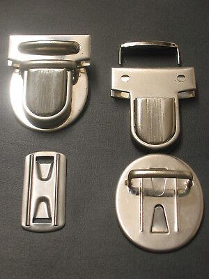 1A SCHNAPPER Schnappverschluss NEU Taschenverschluss 8-tlg. VERSCHLUSS komplett#