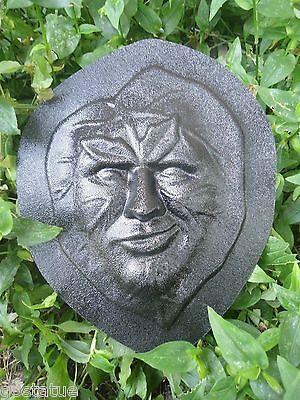 Leaf face molds plastic reusable plaster rapid set cement all moulds