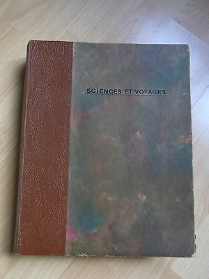 Binding of the Journal Science & Voyages Mars 1950 to March 1952 NOS 51 À 75 6