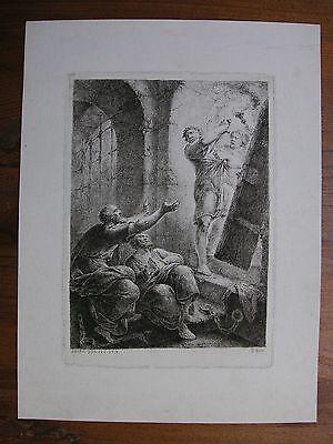 C. B. Rode ´paulus Und Silas Im Gefängnis; Paul And Silas In Prison´ ~1770