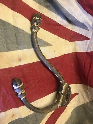 Old Original Acorn Coat Hook Cast Steel Reclaimed Vintage Bf More Listed 2