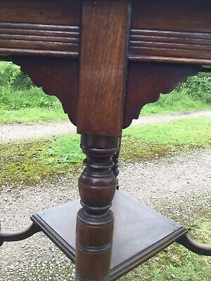 Antique mahogany Octagenal Occasional Table S2 2