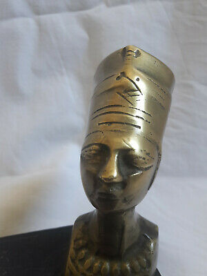 Egyptian Statue Queen Nefertiti  Art Decor Made In Egypt 3