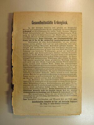 ~1900 F.Koch Kochbuch Die Ernährung des Menschen / Vegetarisch Vegetaria 4