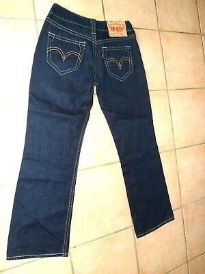 LEVI/'S 901-921 jeans femme taille basse Coupe droite W27 W28 W29 W30 W31 W32 W33