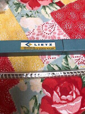 Vintage Adjustable Curve Ruler Lietz Company German  New! 2